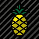 drink, food, juice, pineapple icon