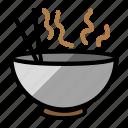 food, noodle, soap icon