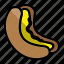 bread, cake, food, hod dog, sandwich icon