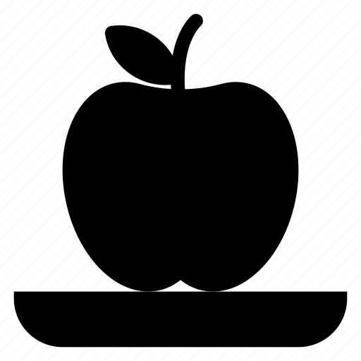 apple, food, fruit, juice, red icon