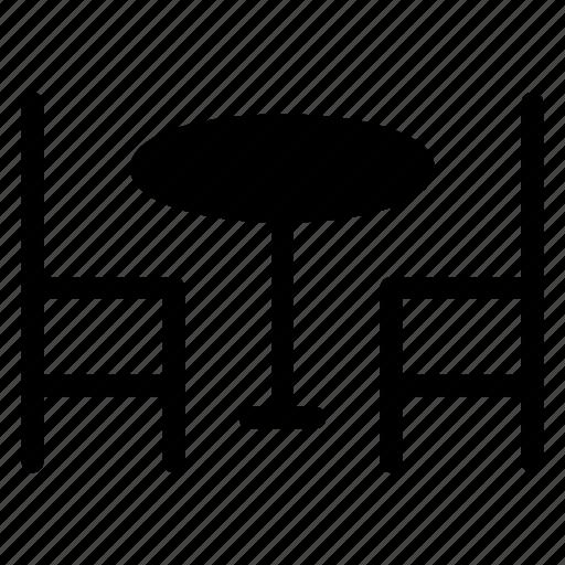 desk, furniture, interior, table icon