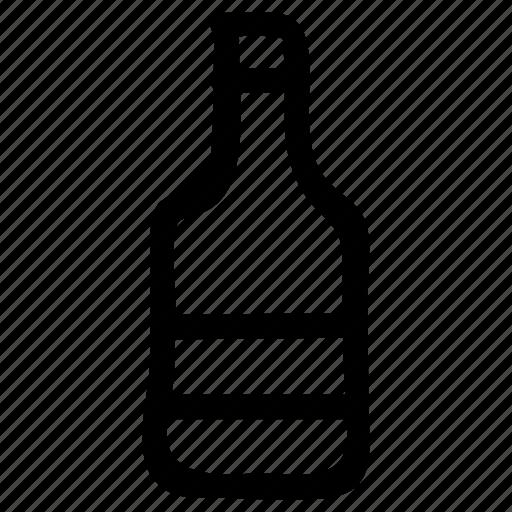 alchohol, bottle, drink, equipment, water, wine icon