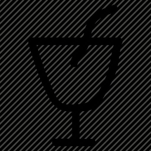 drink, glass, juice, orange icon