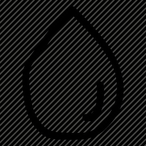drop, liquid, oil, water icon