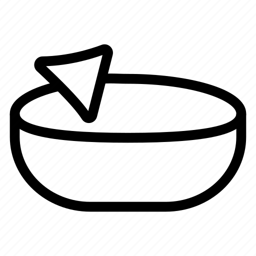 asian, baked, food, samosa icon