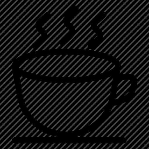 coffee, cup, drink, hot, mug icon