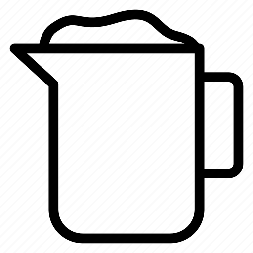 drink, food, jug, kitchen, water icon