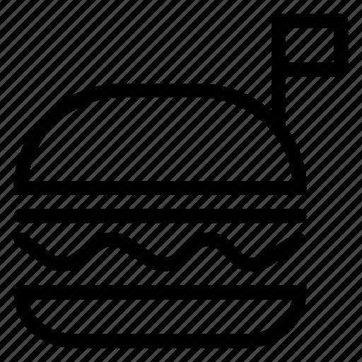 burger, fastfood, food, hamburger, kitchen icon