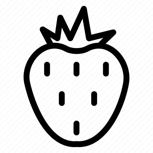 berry, food, fruit, nutrition, strawberry icon