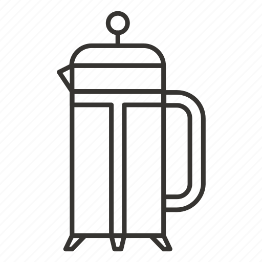 drink, frenchpress, tea, tool, tools, wrench icon