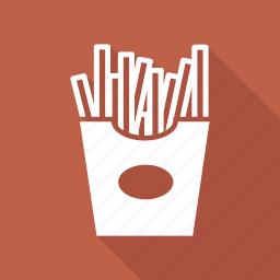 food, french, fries, potato icon