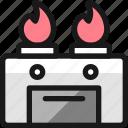 stove, gas