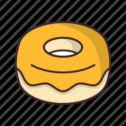 bakery, dessert, donut, doughnut, food, sweet icon
