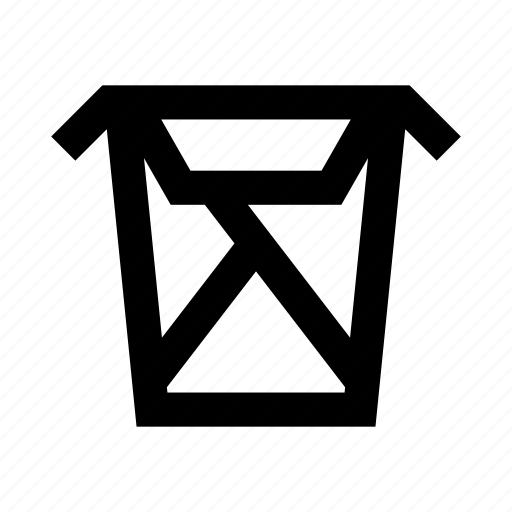 box, container, food, noodle, wok icon