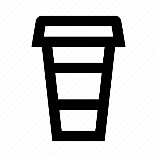 coffee, cup, paper, paper cup, to go icon