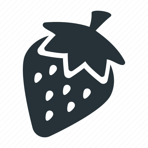 berry, food, fresh, fruit, organic, red, strawberry icon
