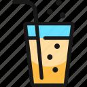 soft, drinks, glass