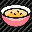 breakfast, cereal, bowl