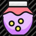jar, candy
