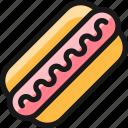 fast, food, hot, dog