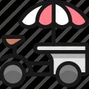 ice, cream, truck