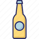 beverage, breakfast, food, liquor food, milk bottle icon