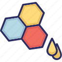 bee honey, honey, honey wax, honeycomb, sweet food icon