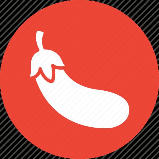 brinjal, eggplant, food, healthy diet icon