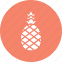 ananas comosus, food, fruit, healthy food, pineapple icon