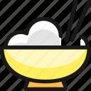 asian, food, rice
