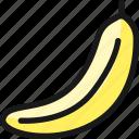 fruit, banana
