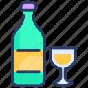 alcohol, alcohole, bottle, drink, glass, wine