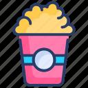 cinema, food, holidays, movie, popcorn