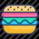 burger, cheeseburger, fastfood, food, hamburger, snack