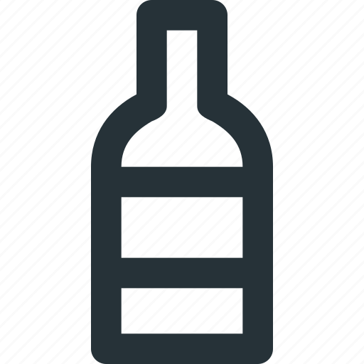 alcohol, bottle, drink, party, restaurant, wine icon