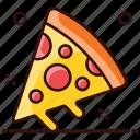 fast food, food, italian food, junk food, pizza, pizza slice, slice icon