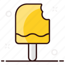ice cream, ice lolly, popsicle, popsicle bite, summer dessert icon