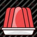 frozen dessert, pudding, snack, sweat dish, sweet food icon