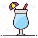 beverage, liquor, refreshing drink, smoothie drink, soft drink, summer, summer liquor icon