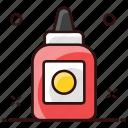 ketchup, sauce, spaghetti sauce, tomato, tomato paste, tomato sauce icon