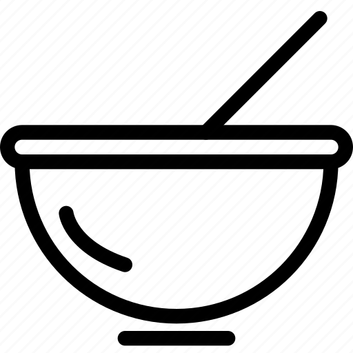 bowl, drinks, food icon
