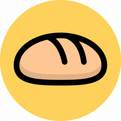 bread, cooking, food, vegetable icon