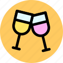 celebrate, celebration, cheers icon