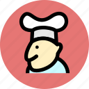 chef, cook, kitchen icon
