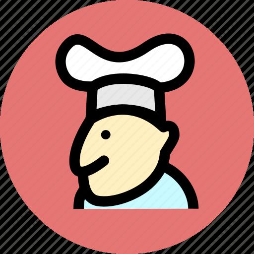 chef, cook, kitchen icon