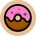 bread, donuts, food icon