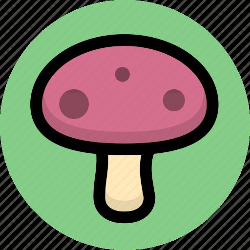 food, fungi, mushroom, mushrooms icon