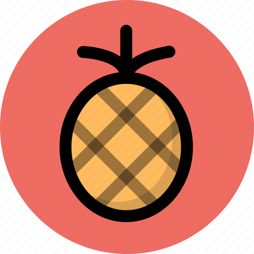 fresh, fruit, pineapple icon