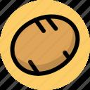 potato, vegetable, vegetables icon