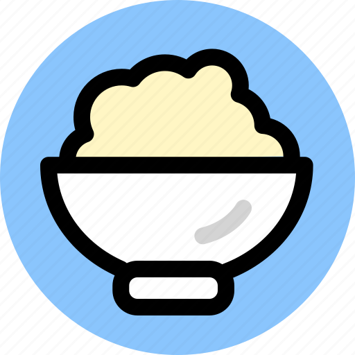 cooking, food, rice icon